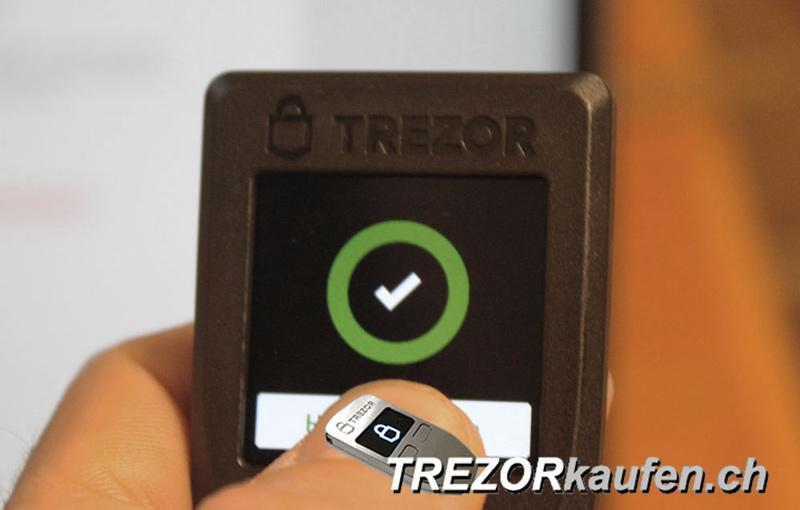 Einfache Bedienung des Trezor T mit vielen unterstützten Coins